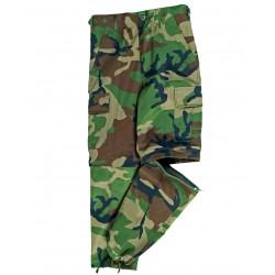 Pantalon Enfant US Type BDU - Pantalon Amovible Enfant Camouflage Quaerius