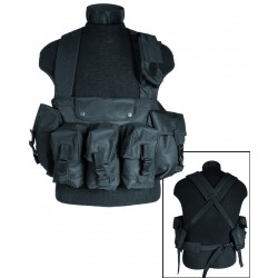 Chest Rig 6 pocket Mil Tec - Gilets Quaerius