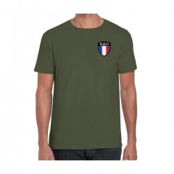 T-Shirt Drapeau Français FLAG SHIELD 2020 5.11 tactical - t-shirt militaire moral shirt 5.11 tactical Quaerius
