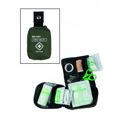 Pack Premiers Soins Mini - Trousse De Secours Quaerius
