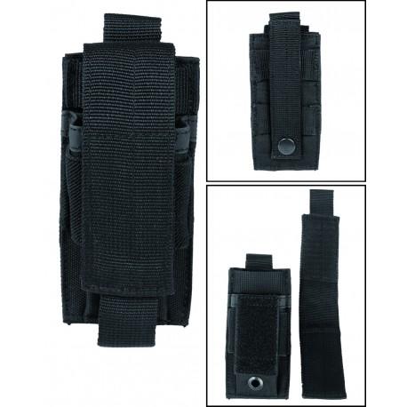Porte Chargeur Pistolet Single Mil Tec - équipement militaire Quaerius