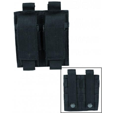 Porte Chargeur Pistolet Double Mil Tec - équipement militaire Quaerius