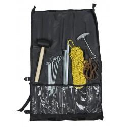 Kit de Tente avec Marteau Piquet Corde Mil Tec - Kit de tente Quaerius