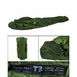 Sac de Couchage Tactical 3 Mil Tec - Sac de couchage camping Quaerius