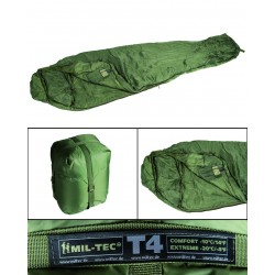 Sac de Couchage Tactical 4 Mil Tec - sac de couchage camping Quaerius