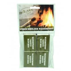 Sachet de 4 Boîtes d'Allumettes Etanches - Boîtes d'Allumettes Quaerius