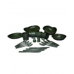 Kit Vaisselle 26 Pièces Vert VA - Set de Vaisselles Quaerius