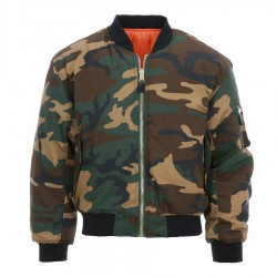 Veste Aviation Bomber Camouflage MA-I Fostex Garments - Equipement militaire outdoor Quaerius
