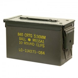 Boîte à Munitions Calibre .50 Van Os Imports - Equipement militaire police Quaerius