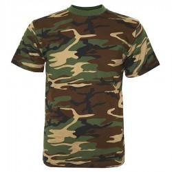 T-shirt Camouflage Fostee Fostex Garments - Equipements militaire outdoor Quaerius