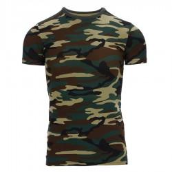 T-shirt Camouflage Enfant 101 Inc - Equipement militaire outdoor Quaerius