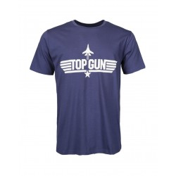 T-shirt Top Gun Blue Mil Tec - Equipement militaire outdoor Quaerius