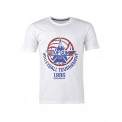T-shirt Top Gun Volleyball Tournament Mil Tec - Equipement militaire outdoor Quaerius
