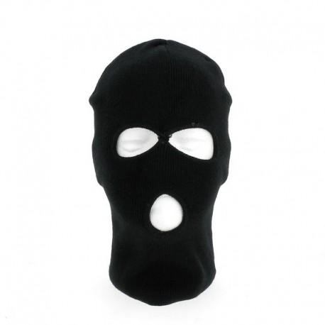 Cagoule 3 Trous Noir Cityguard - Accessoire Agent de Sécurité Cityguard Quaerius