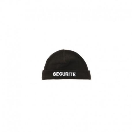 Bonnet Sécurité Noir Cityguard - Accessoires Agent de Sécurité Cityguard Quaerius