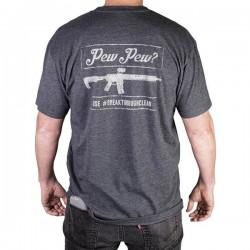 T-shirt Pew Pew Breakthrough - Equipement militaire tir Quaerius