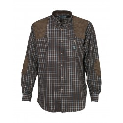 Chemise de Chasse Sologne Percussion - Equipement chasse chemise Quaerius