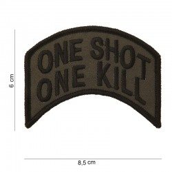 Patch one shot one kill Fostex Garments - Patches Quaerius