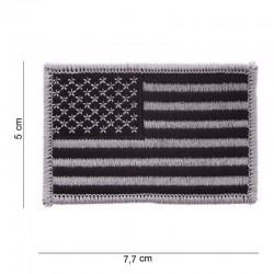 Patch Drapeau Américain Argent Fostex Garments - Patches Quaerius