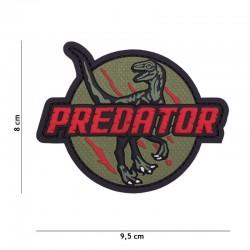 Patch 3D PVC Predator Rouge