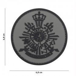 Patch 3D PVC Corps des Marines Hollande Gris 101 Incorporated - Patches Quaerius