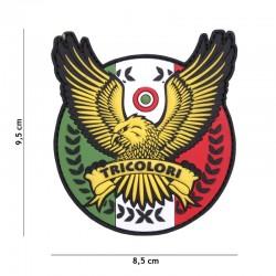 Patch 3D PVC Tricolori Aigle Italie