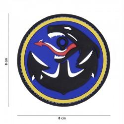 Patch 3D PVC Formoza Encre Bleu 101 Incorporated - Patches Quaerius