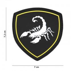 Patch 3D PVC Scorpion Russie Noir 101 Incorporated - Patches Quaerius