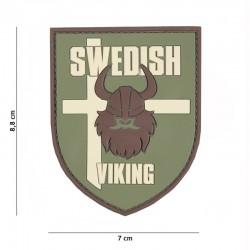 Patch 3D PVC Drapeau Suède Viking Basse Visibilité 101 Incorporated