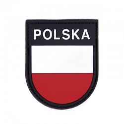 Patch 3D PVC Drapeau Pologne 101 Incorporated - Patches Quaerius