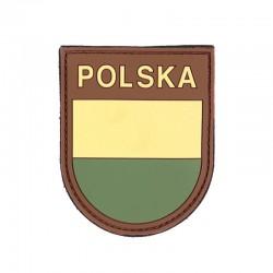 Patch 3D PVC Drapeau Pologne Basse Visibilité 101 Incorporated - Patches Quaerius