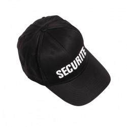 Casquette Sécurité Noir Baseball Cityguard - Casquette Agent de Sécurité Cityguard Quaerius