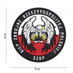 Patch 3D PVC SZRP Pologne 101 Incorporated - Patches Quaerius