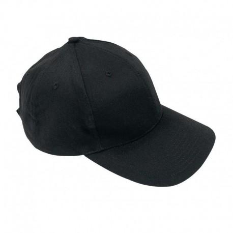 Casquette Base Ball Coton Noir Cityguard - Casquette Agent de Sécurité Cityguard Quaerius