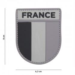 Patch 3D PVC Armée Française Gris 101 Incorporated - Patches Quaerius