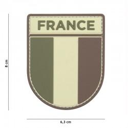 Patch 3D PVC Armée Française Basse Visibilité 101 Incorporated - Patches Quaerius