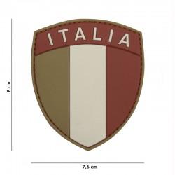 Patch 3D PVC Drapeau Italie Basse Visibilité