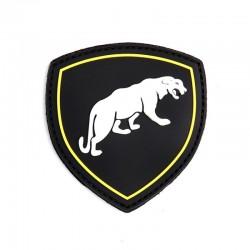 Patch 3D PVC Puma Russie Noir 101 Incoporated - Patches Quaerius