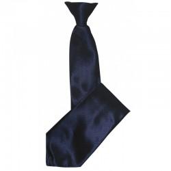 Cravate à clip noire