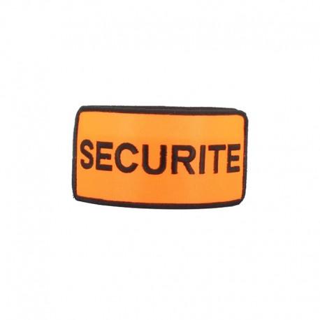 Brassard Sécurité Orange Cityguard - Accessoire Agent de Sécurité Cityguard Quaerius