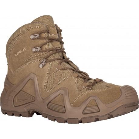 Chaussure Zephyr MID TF Désert - Chaussure Militaire LOWA - Equipements Militaire Quaerius