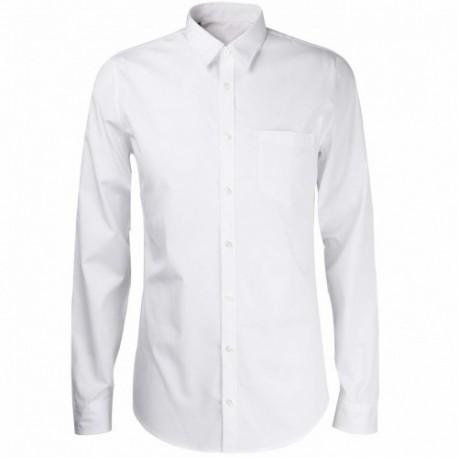 Chemise de Ville Blanche Homme - Vêtement Sécurité Cityguard Chemise sécurité privée Quaerius