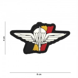 Patch 3D PVC Para Commando Belgique 101 Incorporated - Patches Quaerius