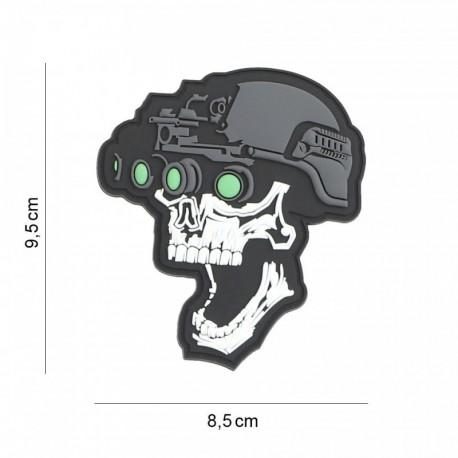 Patch Skull Night Vision 101 Incorporated - Patches Quaerius