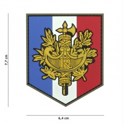Patch 3D PVC Shield France 101 Incorporated - Patches Quaerius