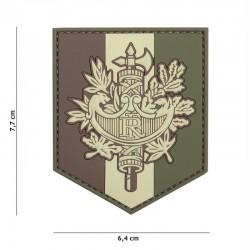 Patch 3D PVC Shield France Basse Visibilité 101 Incorporated - Patches Quaerius