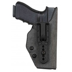 Holster SITS STEADY inside Glock 17/19
