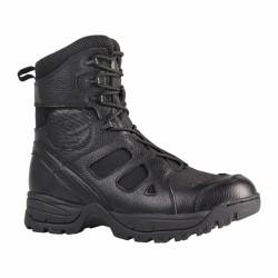Les chaussures de combat SAS 8.0 A.R.E.S fabriquées en nylon et en cuir sont résistante et confortable. Dotées d'une semelle à mémoire de forme, elles s'adapte à la morphologie du pied et protège le talon des chocs lors de réceptions de sauts ou de courses sur sol dur.