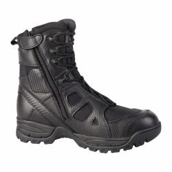 Les chaussures de combat SAS 8.0 SZ A.R.E.S fabriquées en nylon et en cuir sont robuste et confortable. Dotées d'une fermeture zippée sur le côté offrant un chaussement et déchaussement rapide, elles s'adapte à la morphologie du pied et protège le talon des chocs lors de réceptions de sauts ou de courses sur sol dur.
