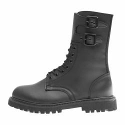 Les rangers souple A.R.E.S en caoutchouc et en polyester sont confortables et résistantes. Dotées d'une languette à soufflet épousant le tibia pour garder un confort optimal, elle participe également à l'étanchéité de la chaussure. Sa semelle crantée offre à l'utilisateur une adhérence à toutes épreuves.